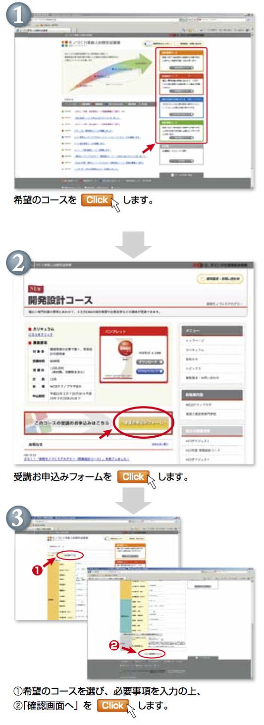 オンライン申込手続